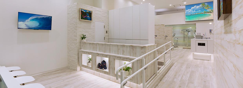 湘南平塚ファースト歯科の待合室